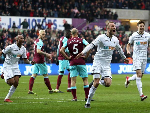 West Ham sliter med formen for tiden. Foto: Getty Images